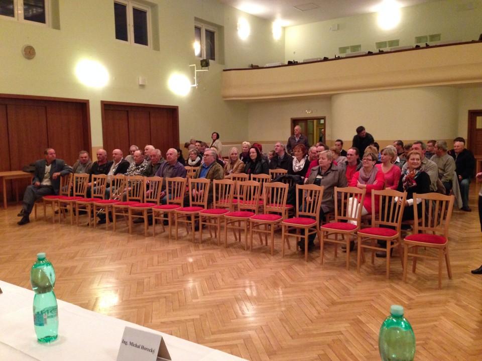 Ustavující zasedání zastupitelstva Šumic